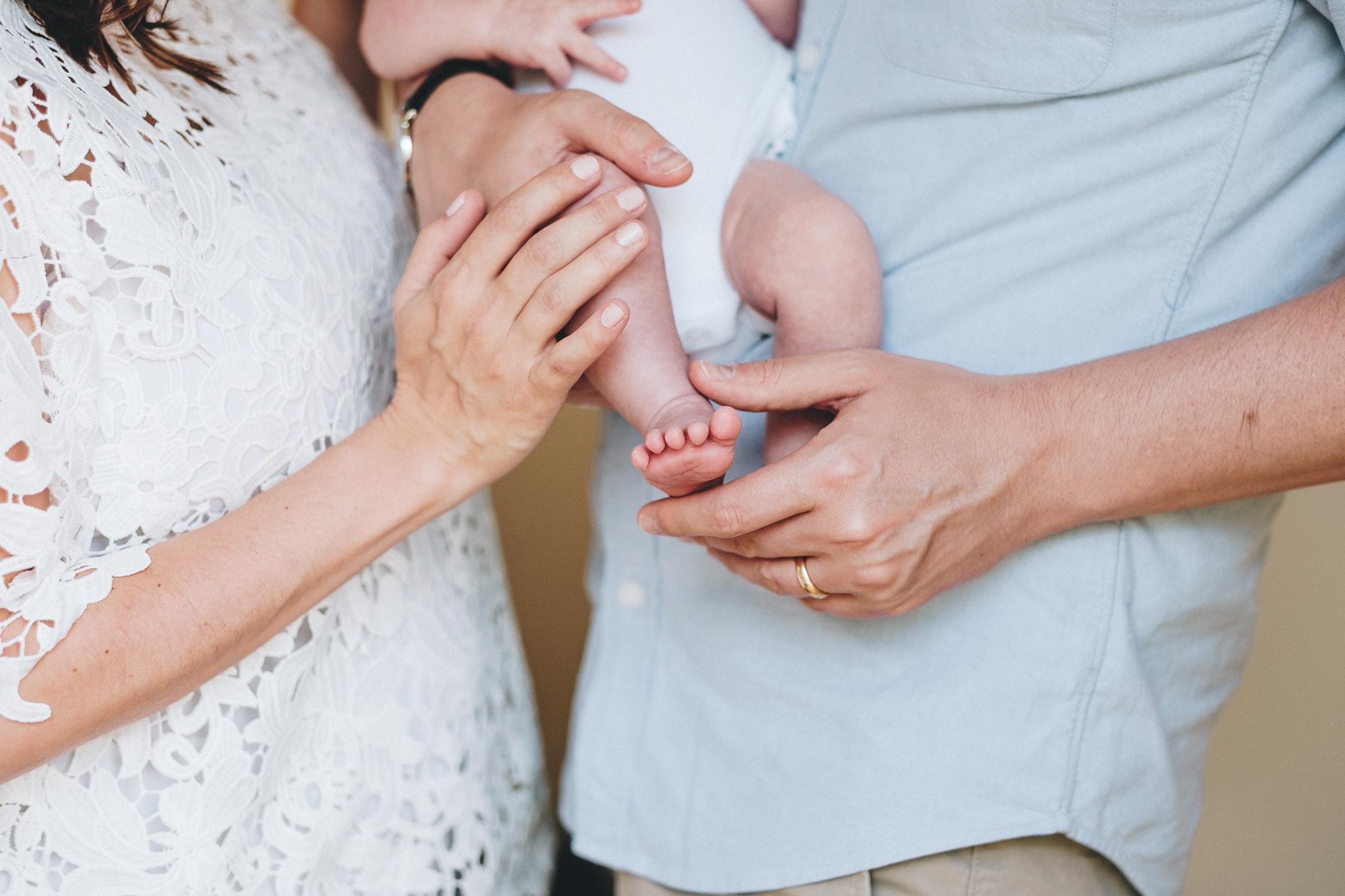 Surrey Newborn Family Photographer
