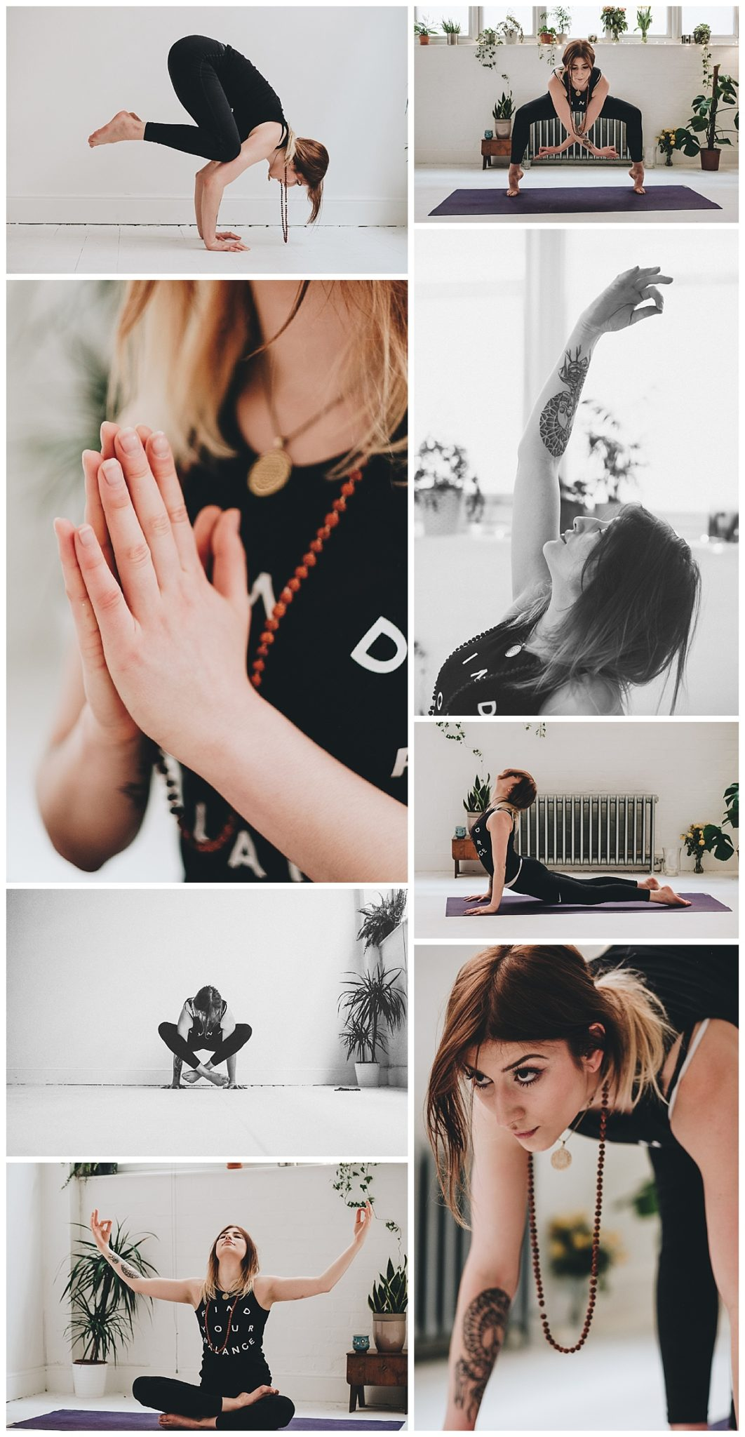 yoga inspiration photography