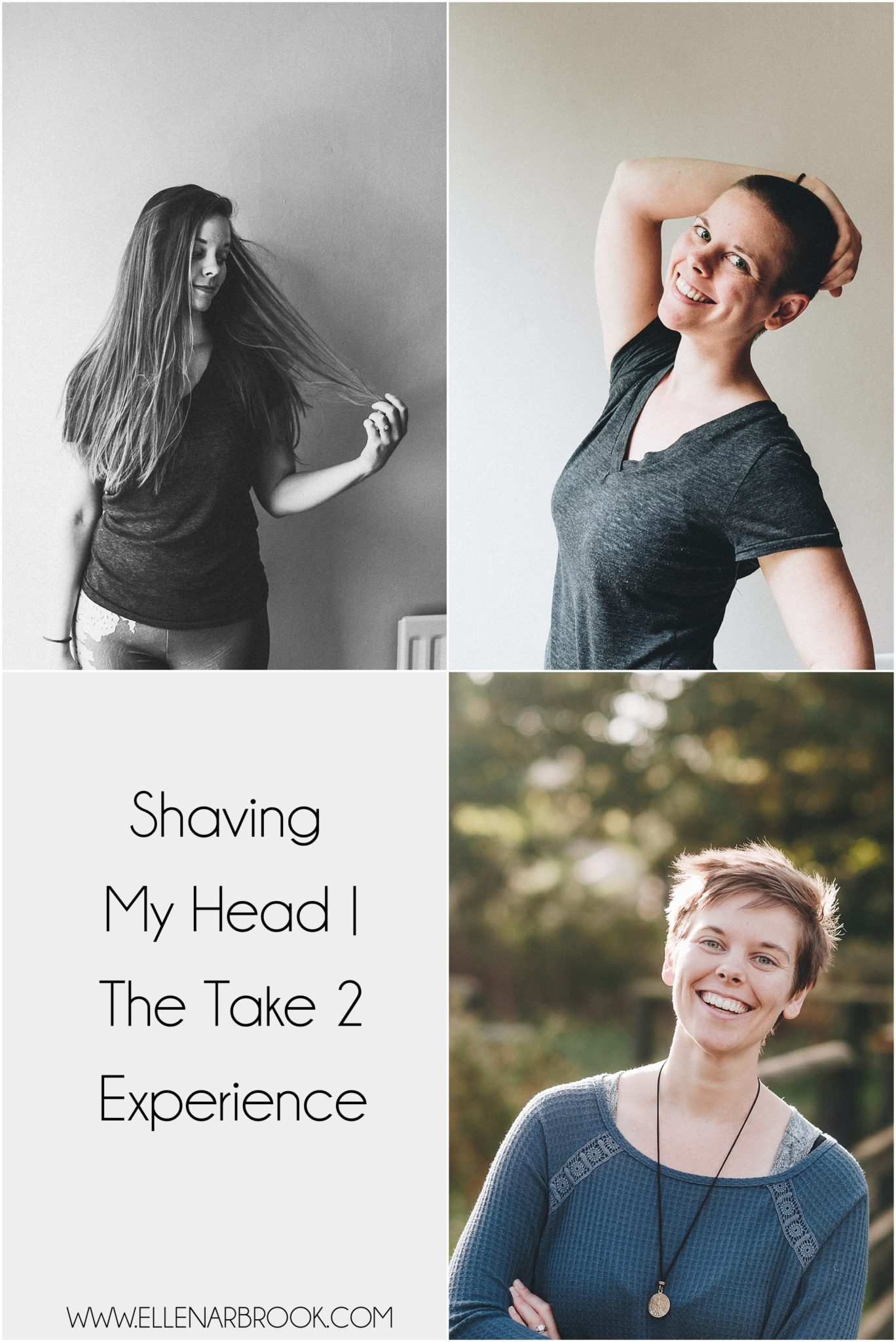 Shaving my head | the take 2 experience. 5 years and less self doubt, more confidence.
