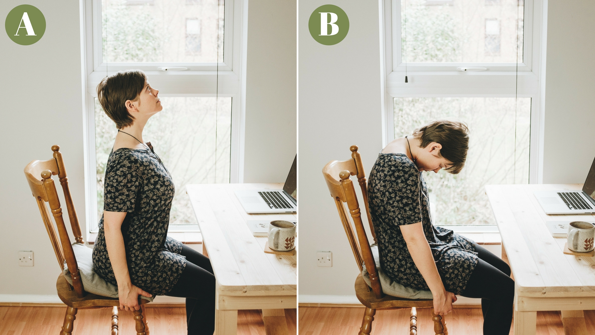 5-10min Desk Yoga for Photographers - Yoga in the Office