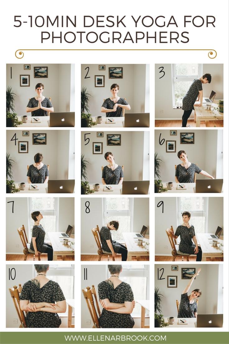 5-10min Desk Yoga for Photographers