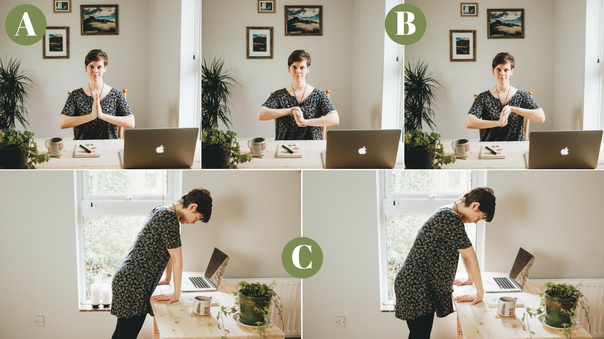 5-10min Desk Yoga for Photographers - Yoga for Wrists