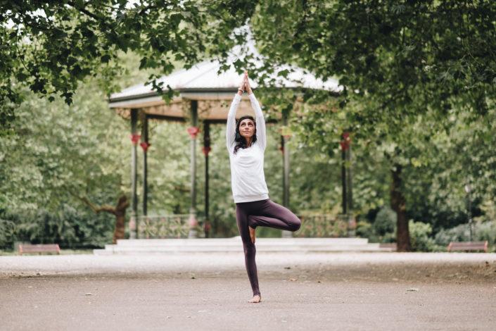 London Yoga Photography