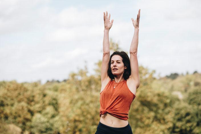 London Yoga Photographer