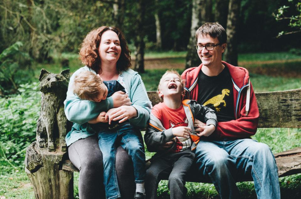 Woodland Walk   Family Photo Session