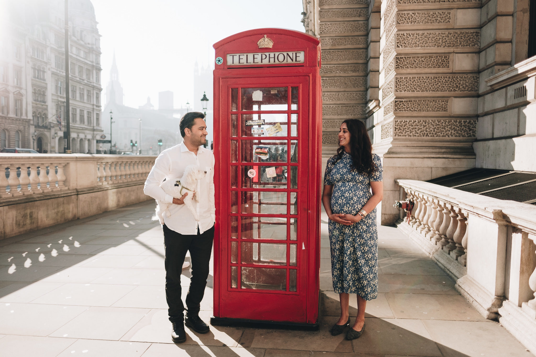 Pregnancy Photoshoot in Westminster, London
