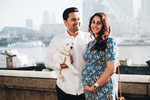 London Pregnancy Photoshoot